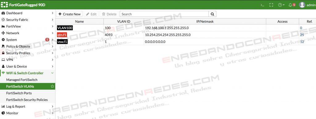 Interfaz VLAN