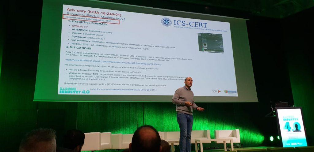 Edorta Echave en Basque Industry 4.0 The Meeting Point