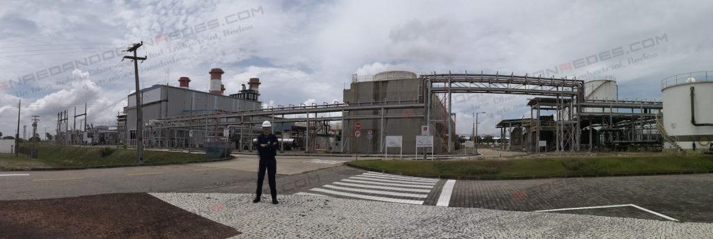 Edorta Echave at Power Plant