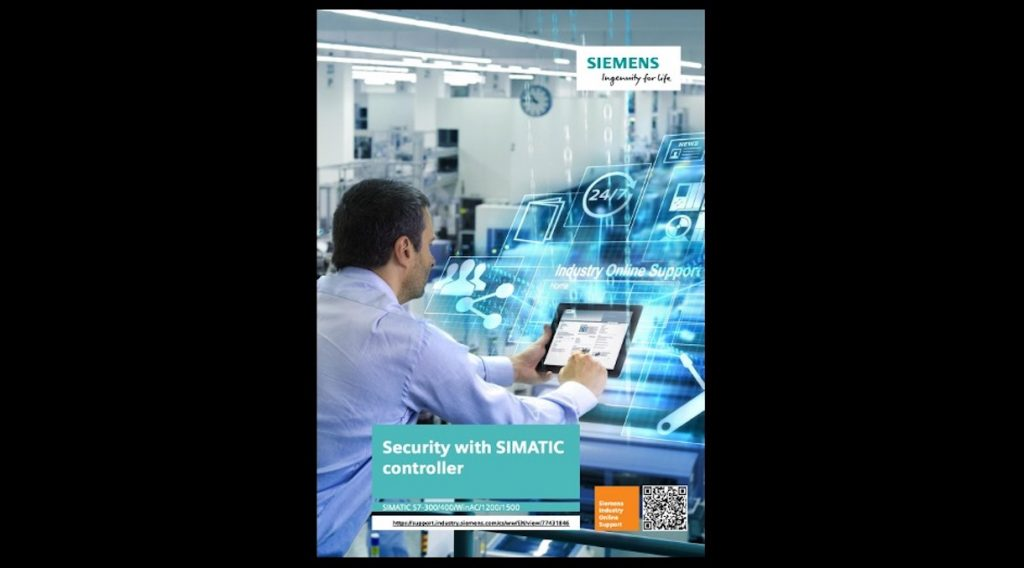 Siemens Security with SIMATIC Controller Guide